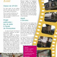 ECHO 147 page ecole copie