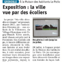 Exposition ma ville patio