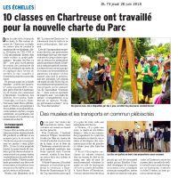 20180625 DL38 dix classes ont travailles sur la charte du parc