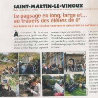 Le paysage et le patrimoine autour du collège de Saint-Martin-Le-Vinoux et Saint Egrève